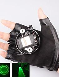 л-532 перчатка зеленая лазерная указка (4 МВт, 532, 1xlithium батареи, черный)