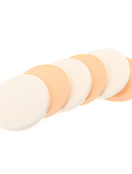 6pcs Small Dry and Wet Use Makeup Puff
