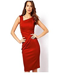 VICONE  Women's Halter High Waist Slim Dresses