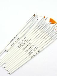 15PCS Nail Art Painting Brush Kits Nail Art UV Gel Pen Brush