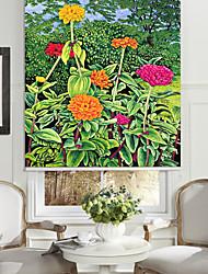Gorgeous Flowers Roller Sahde