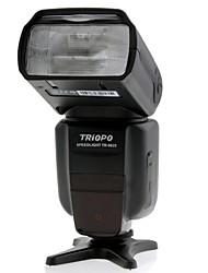 triopo tr-982ii n i-TTL sync master / slave alta velocidade 1 / 8000s flash Speedlite para Nikon câmera DSLR
