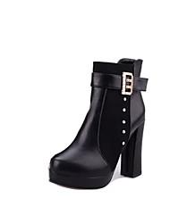 Zhuoyue Women's Fashion Stiletto Heel Martin Boots