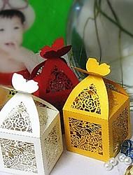 50 Piece/Set Favor Holder - Cubic Card Paper Favor Boxes