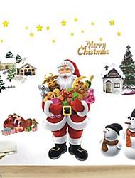 autoadesivi della parete decalcomanie della parete, i regali di Natale degli autoadesivi della parete del PVC