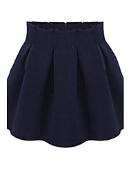 Eleanor Women's Big Size Wool Skirt NA11B-0792