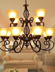 sala de estar sala de jantar lustre 12 luzes