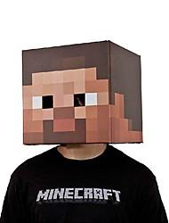 """Minecraft 12 """"exclusiva máscara de disfraces cabeza"""
