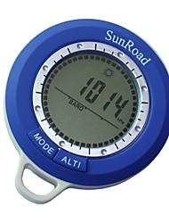 Multifunction Waterpoof Mini Digital Altimeter Barometer Thermometer Weather forecast Time Compass