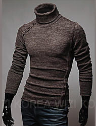 Tony Men's Slim Turtle Neck Sweater