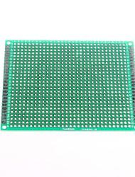 7 x 9 centimetri su entrambi i lati in fibra di vetro di prototipazione pcb basetta universale (2 pz)