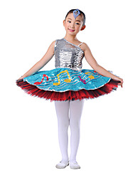 Ballet Children's Modern Charmeuse Yarn Dancewear