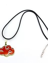 Schmuck Inspiriert von Naruto Cosplay Anime Cosplay Accessoires Halsketten Rot Legierung Mann