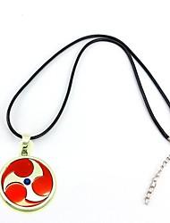 collier pendentif en alliage de cosplay naruto