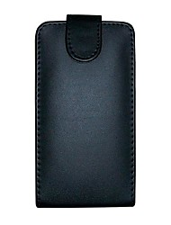 For LG Case Flip Case Full Body Case Solid Color Hard PU Leather LG