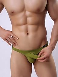 moda causual cómodo bajo la cintura de la ropa interior sexy g-hombre del hombre