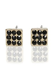Women's Fashion Czech Stone Sparkly Classic Stud Earring(More Colors)