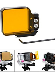 Accessories For GoPro Smooth Frame / Dive Filter / Lens FilterFor-Action Camera,Gopro Hero 2 / Gopro Hero 3+ / Gopro Hero 4Diving &