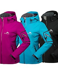 Women's Ski Jacket Waterproof Thermal / Warm Fleece Lining Waterproof Zipper Front Zipper High Breathability (>15,001g) Breathable