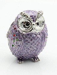 Crystal Studded Owl Boxes New Owl Look New Owl Design