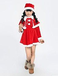 Little Red Dress Girl's Christmas Costume