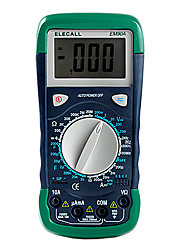 lcd digitale display multimeter elecall em90a