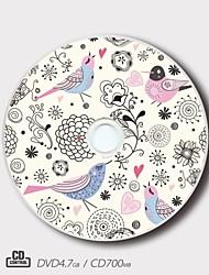 personalizado CD-R / DVD-r creativo cumpleaños regalo mágico modelo actual (juego de 5)