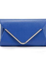 Women's Fashion PU Leather  bag Shoulder Bag Handbag Blue