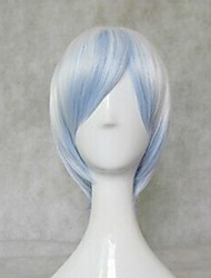 Vocaloid Snow MIKU Mixed Blue Short Ver. Cosplay Wig