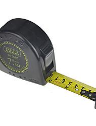 7.5m * outil 25mm 1mm ruban à mesurer ruban à mesurer métrique / pouce de mesure d'exploiter