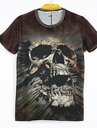 Men's Floral Print 3D All Match  T -shirt