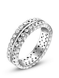 Women's Roxi Exquisite Platinum Plated Hollow Out Statement Statement Rings(1 Pc)