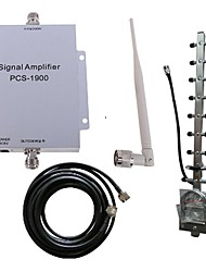 PCS 1900MHZ Mobile Phone Signal Booster Amplifier Repeater Antenna Kit 500M² New