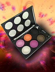 6 Colors Flash Eye Shadow(4 Selectable Colors)