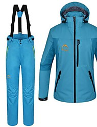 Women's Woman's Jacket / Winter Jacket / Clothing Sets/Suits Waterproof / Thermal / Warm Winter BlueS / M / L / XL / XXL