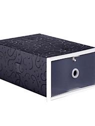 caixa de sapatos pp para armazenar sapatos 5 pcs