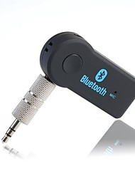 Portable Bluetooth Audio Receiver 3.5mm Music Stereo Rceiver Adapter for Car Iphone Support 2 Devices