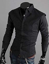 Men's Coats & Jackets , Cotton Long Sleeve Casual YESFLY