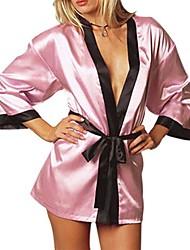 Women Robes Nightwear , Ice Silk