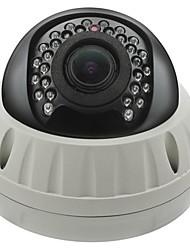 cctv 2.8-12mm varifocal IR a prueba de vandalismo cámara domo de 1/4 CMOS 800tvl con IRCUT 30m ir cubierta xv-8035h9