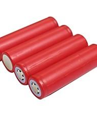 2600mah 3.7v batería de iones de litio recargable 18650 (4pcs)