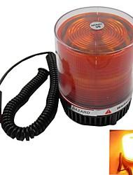 Car LED Warning Light Strobe Mode Yellow Light 12V/24V