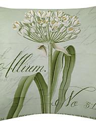 vívida allium padrão de veludo capa almofadas decorativas