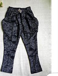 Primavera dos miúdos meninas e outono outono nova calças Iong e confortáveis calças harem de moda coreano crianças