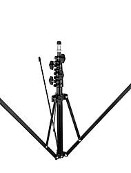 meking l-2000a suporte de flash de alumínio 5 seção de dobramento para a fotografia