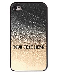 Personalized Phone Case - Water Drop Design Metal Case for iPhone 4/4S