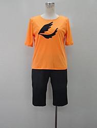 Inspiriert von Cosplay Shino Anime Cosplay Kostüme Cosplay-T-Shirt Einfarbig / Druck Orange Kurze Ärmel T-Shirt-Ärmel / Kurze Hosen