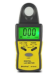 100kLux Digital Handheld Illuminometer Light Intensity Meter Illuminance Meter HoldPeak HP-881B