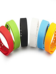 ForTech Slims Bracelet Watch Pedometer, Sleep Monitoring,Temperature Monitoring,Time Display , Digital Time Display