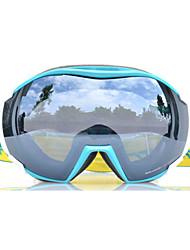 Basto doble lente contra antiniebla gafas de nieve gafas de esquí